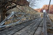 Постер, плакат: The Swinging Bridge