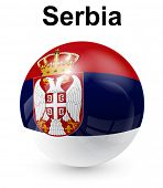 picture of serbia  - serbia official state flag - JPG