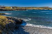 picture of shoreline  - Shoreline along the community of Elliston on the Bonavista Peninsula in Newfoundland - JPG