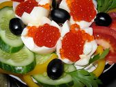 Snack With Caviar