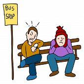 Späten Bus