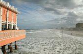 Daytona Boardwalk And Beach