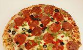 Media rebanada de Pizza