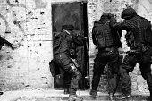 Policía antiterrorista subdivisión
