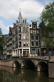 Bridge And Architecture From Amsterdam