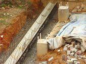 Construction Drain Walkway