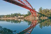 Rainbow Bridge Over Swinomish Channel