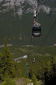 Gondola At Sulphur Mountain