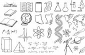 science and education vector set