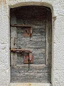 Gefängnis der Tür im Dogenpalast in Venedig