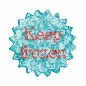 Button Icon: Keep Frozen