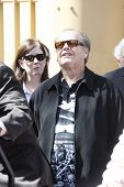 LOS ANGELES - MAR 26: Jack Nicholson at a ceremony where Dennis Hopper receives a star on the Hollyw