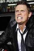 LOS ANGELES - APR 10:  Mike 'The Miz' Mizanin (WWE Superstar) at the Jackass 3D premiere held at Gra