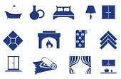 Interior, Home Related Icons