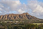Diamond Head In Honolulu, Hawaii