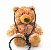 Teddy Bear With A Stethoscope