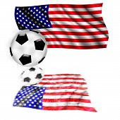 Football Flag USA
