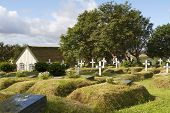 Friedhof in Island