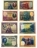 Old Spanish Banknotes