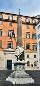 Obelisk Of Santa Maria Sopra Minerva