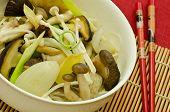 mushroom stir fry