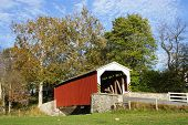 picture of covered bridge  - Erb - JPG