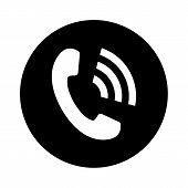 Phone Icon, Phone Icon Eps10, Phone Icon Vector, Phone Icon Vector Image, Phone Icon Picture, Phone  poster