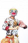 image of hanuman  - Thai Cultural Show Hanuman  - JPG