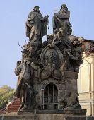 Statues Of Saint John, Felix And Ivan