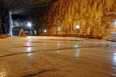 stock photo of salt mine  - Praid  - JPG