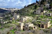 Lifta, a Jerusalem village which was abandoned by the Palestinians during the Israeli War of Indepen