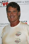 LOS ANGELES, CA - AUG 2: David Hasselhoff at the opening of the new Upscale Doggie Boutique Buster &