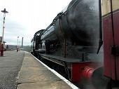 Steam Locomotive At Rawtenstall