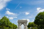 Arc de Triomphe in Paris