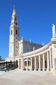 image of fatima  - The grand memorial and religious complex in the small Portuguese town of Fatima - JPG