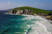 Cliffs On Dingle Peninsula, Ireland
