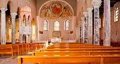 Interior Of The St. Euphemia Basilica, Grado
