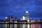 Editorial Cincinnati Just Before Dawn