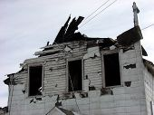Burnt Building Close