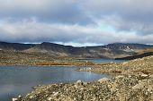 Glacial lake, Spitsbergen (Svalbard)