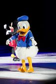 Donald Duck On Skates