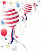 July Fourth Balloons