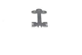 stock photo of unicity  - unic steel modern key on white background 5 - JPG