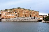 View Of Stockholm's Royal Palace In Gamla Stan, Sweden