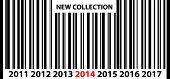 New Collection 2014 Price Bar Code