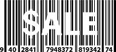 Special Product Sale Promotional Price Bar Code
