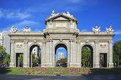 The Puerta De Alcala