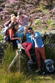 pic of 16 year old  - Group Of Young People Taking Photograph On Hike - JPG