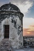 Downtown Historic Building. Cartagena De Indias, Colombia.