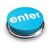 Enter - Blue Button